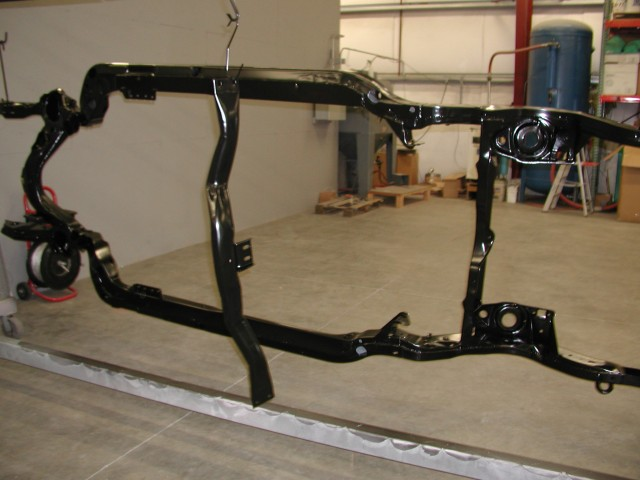 Car Frame - Black Powder Coating